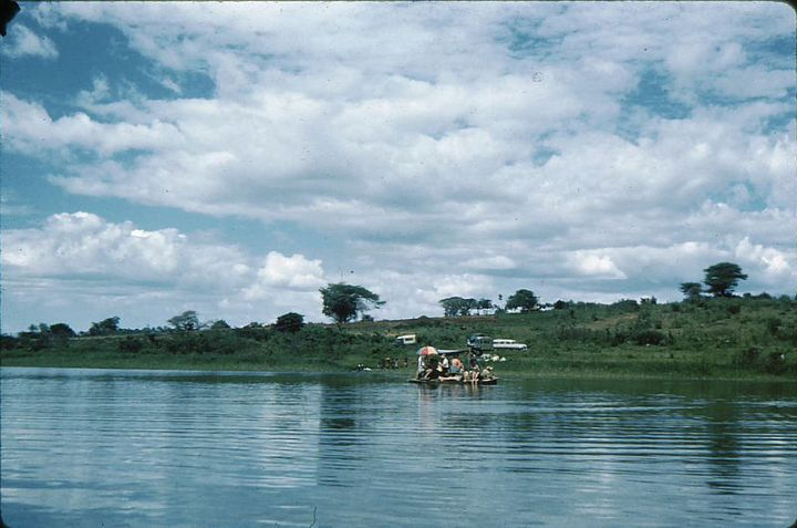 Lake Babati, Tanzania in the 1950's, around the time my grandfather lived there. Thanks to https://www.flickr.com/photos/richmal/ for the photo.